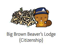 Big Brown Beaver's Lodge